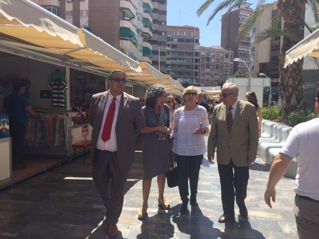 Maruja Pelegrín inaugura la II edición de la Feria Muác del Verano - 3, Foto 3