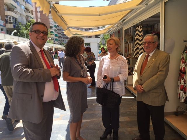 Maruja Pelegrín inaugura la II edición de la Feria Muác del Verano - 4, Foto 4