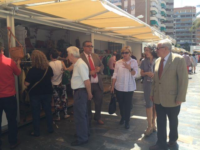 Maruja Pelegrín inaugura la II edición de la Feria Muác del Verano - 5, Foto 5