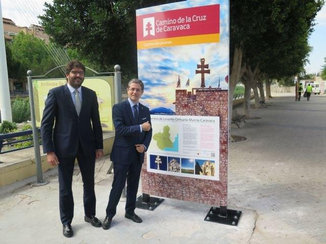 Nueva señalización en el Camino de Levante a su paso por Murcia - 1, Foto 1
