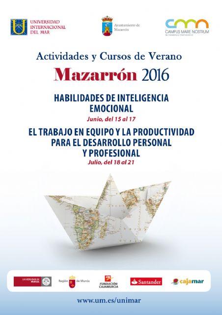 La universidad internacional del mar oferta dos cursos de verano en su sede de Mazarrón - 1, Foto 1