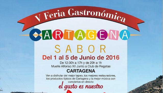 Cartagena Sabor inaugurará el miércoles su oferta gastronómica en el Puerto - 1, Foto 1