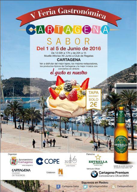 Cartagena Sabor inaugurará el miércoles su oferta gastronómica en el Puerto - 2, Foto 2
