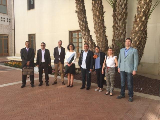 La Comunidad muestra a una delegación libia de ingenieros expertos en gestión del agua las buenas prácticas en la Región de Murcia - 1, Foto 1