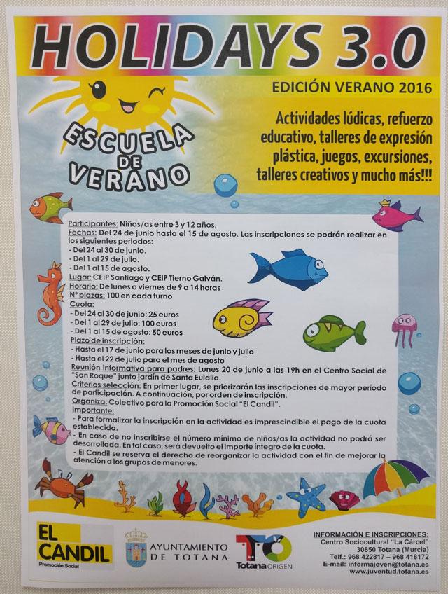Se presenta la Escuela de Verano Hoydays 3.0 - 2, Foto 2