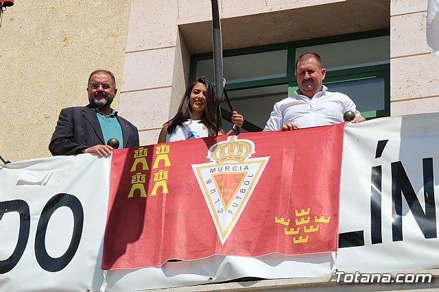 Totana se suma a la iniciativa #balconesgranas - 1, Foto 1