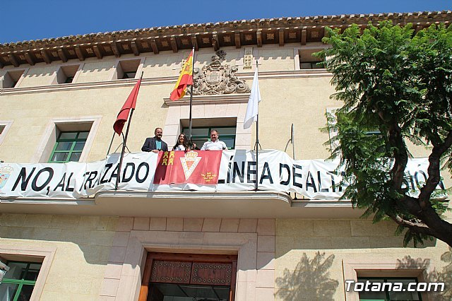 Totana se suma a la iniciativa #balconesgranas - 2, Foto 2