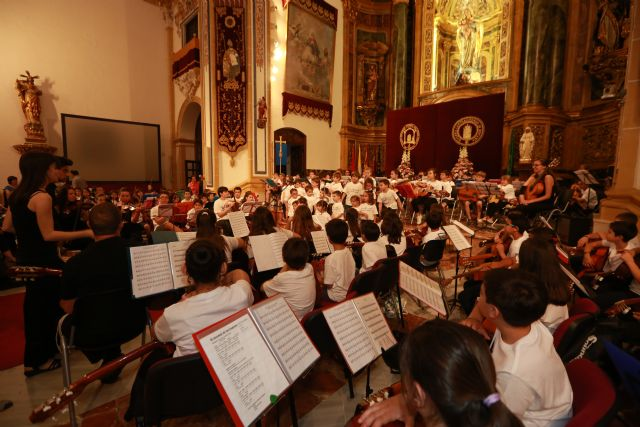 La Red de Orquestas Escolares de la UCAM despide el curso con un concierto en Los Jerónimos - 1, Foto 1