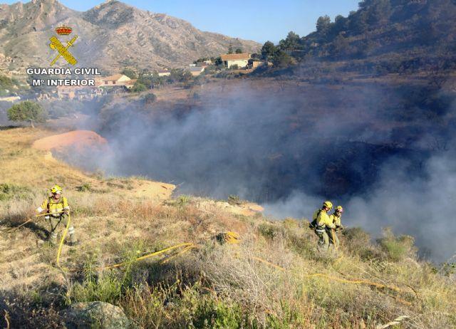 La Guardia Civil esclarece las causas del incendio que calcinó 4.000 metros cuadrados de terreno forestal - 1, Foto 1
