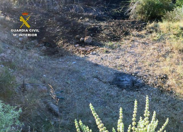 La Guardia Civil esclarece las causas del incendio que calcinó 4.000 metros cuadrados de terreno forestal - 2, Foto 2