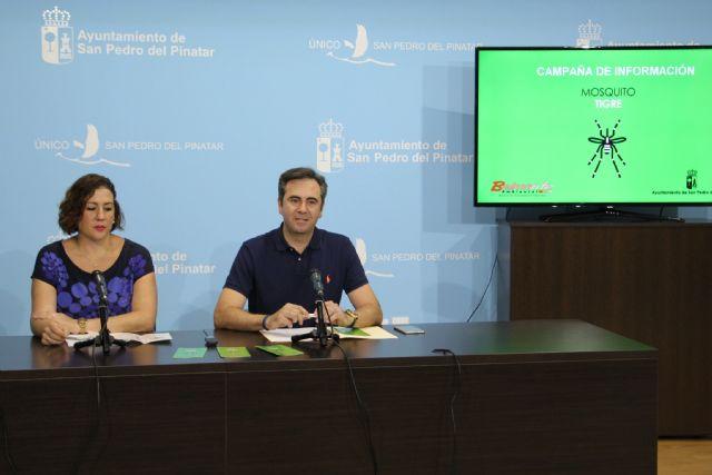 San Pedro del Pinatar lanza una campaña informativa sobre el mosquito tigre - 1, Foto 1
