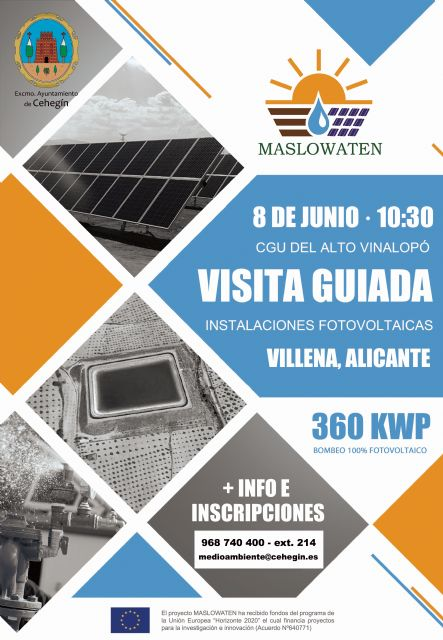 Organizada una visita guiada a una instalación de riego fotovoltaica - 1, Foto 1