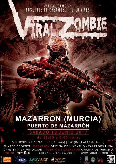 La experiencia viral zombie llega a Puerto de Mazarrón el próximo sábado 10 de junio - 2, Foto 2