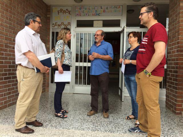 Los concejales de Educación y Obras visitan los centros educativos para conocer sus necesidades - 1, Foto 1