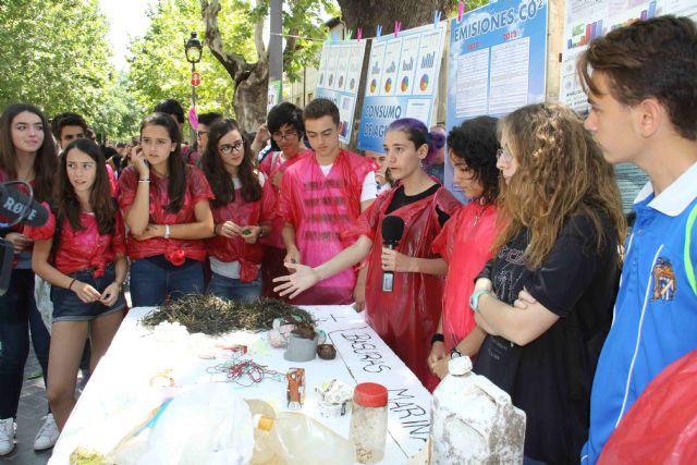 Institutos de la Región clausuran en Caravaca el programa de concienciación ambiental 'Escuelas en Red' - 2, Foto 2