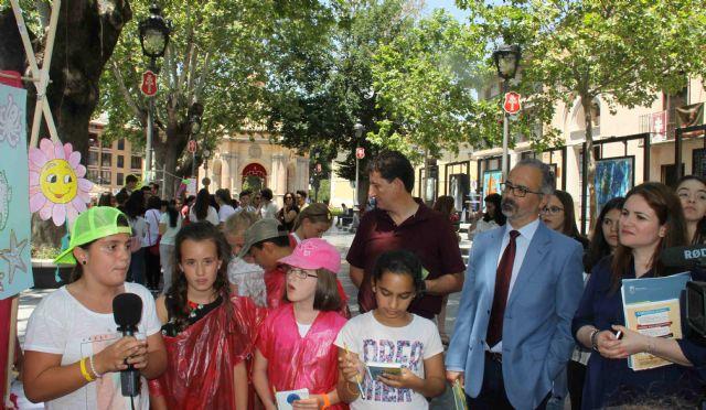 Institutos de la Región clausuran en Caravaca el programa de concienciación ambiental 'Escuelas en Red' - 3, Foto 3