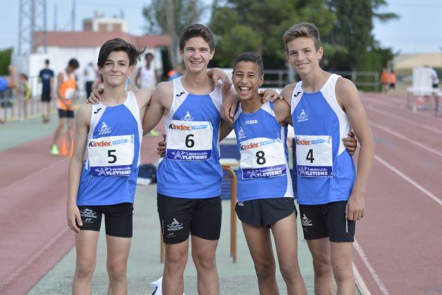 36 medallas para el Club Atletismo Alhama en la final regional benjamín, alevín e infantil, Foto 3
