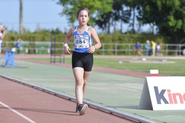 36 medallas para el Club Atletismo Alhama en la final regional benjamín, alevín e infantil, Foto 5
