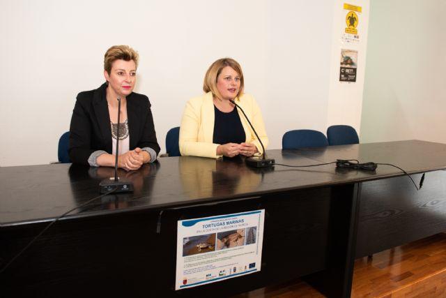 Técnicos medioambientales celebran en Mazarrón una jornada divulgativa sobre la detección y la protección de la tortuga marina - 1, Foto 1