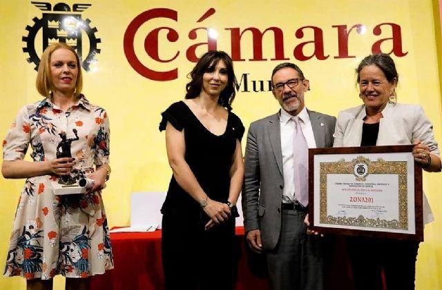 Cuatro empresas alcantarilleras del Polígono Industrial Oeste recibieron galardones ayer en los Premios Mercurio de la Cámara de Comercio de Murcia - 2, Foto 2