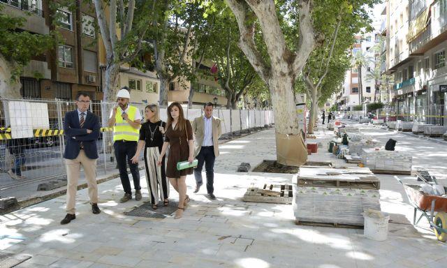 Las obras de peatonalización de Alfonso X hasta La Circular, a pleno rendimiento - 2, Foto 2