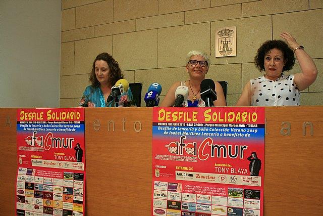 El parque municipal Marcos Ortiz acoge el próximo 7 de junio el VI Desfile Solidario de Lencería y Baño a beneficio de Afacmur - 2, Foto 2