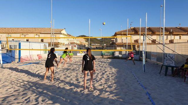 Playa Paraíso acoge la Fase Municipal de Voley Playa Cartagena - 1, Foto 1