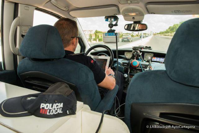 Nuevos controles de velocidad de la Policía Local de Cartagena del 3 al 9 de junio - 1, Foto 1