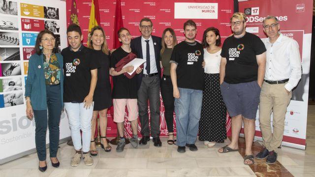 David Vigueras, elegido 'Voluntario del mes' del proyecto 17 ODSesiones de la Universidad de Murcia - 3, Foto 3