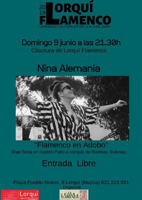 El municipio celebra las I Jornadas Culturales Lorquí Flamenco - 3, Foto 3