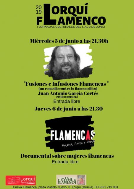 El municipio celebra las I Jornadas Culturales Lorquí Flamenco - 5, Foto 5