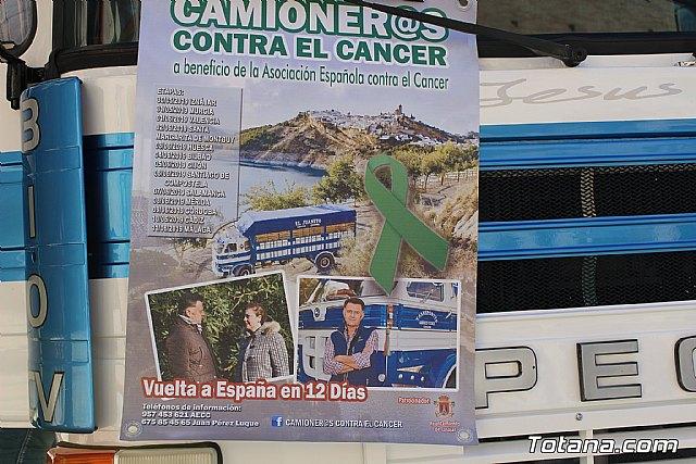 El Ayuntamiento de Totana colabora con el proyecto Camioner@s solidarios contra el cáncer. Ruedas movidas por la solidaridad - 3, Foto 3
