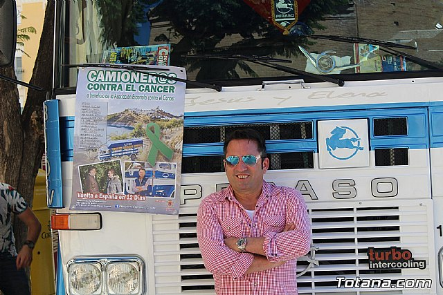 El Ayuntamiento de Totana colabora con el proyecto Camioner@s solidarios contra el cáncer. Ruedas movidas por la solidaridad - 4, Foto 4