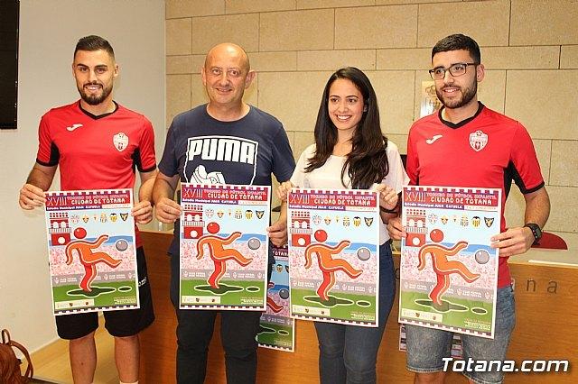 """El XVIII Torneo de Fútbol Infantil """"Ciudad de Totana"""" se disputa este fin de semana en el estadio """"Juan Cayuela"""" con la participación de seis equipos, Foto 1"""