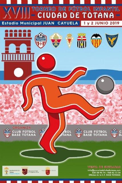 """El XVIII Torneo de Fútbol Infantil """"Ciudad de Totana"""" se disputa este fin de semana en el estadio """"Juan Cayuela"""" con la participación de seis equipos, Foto 3"""