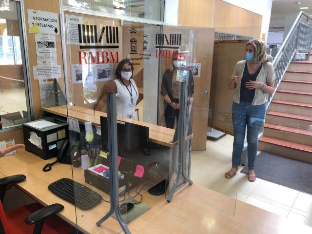 La Red Municipal de Bibliotecas de Murcia ultima los preparativos para la reanudación del servicio presencial - 2, Foto 2