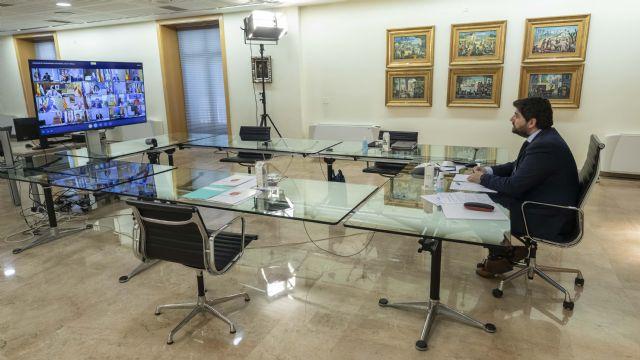 López Miras: No es ético ni legítimo que el Gobierno central llegue a acuerdos bilaterales con algunas regiones a cambio de votos - 2, Foto 2