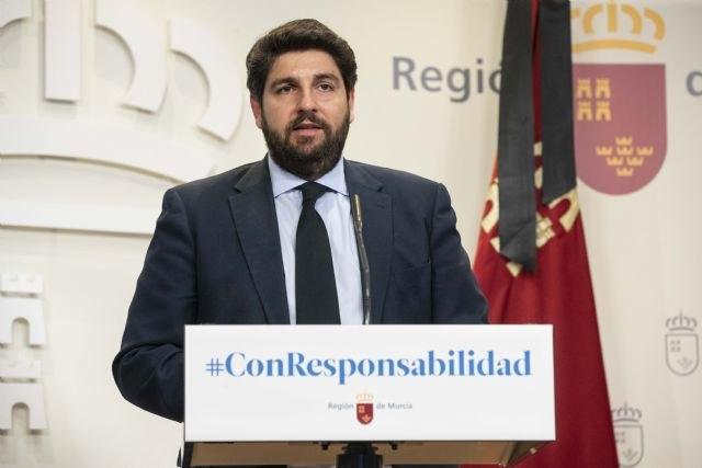 López Miras: No es ético ni legítimo que el Gobierno central llegue a acuerdos bilaterales con algunas regiones a cambio de votos - 3, Foto 3