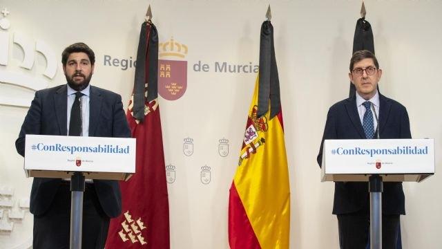 López Miras: No es ético ni legítimo que el Gobierno central llegue a acuerdos bilaterales con algunas regiones a cambio de votos - 4, Foto 4