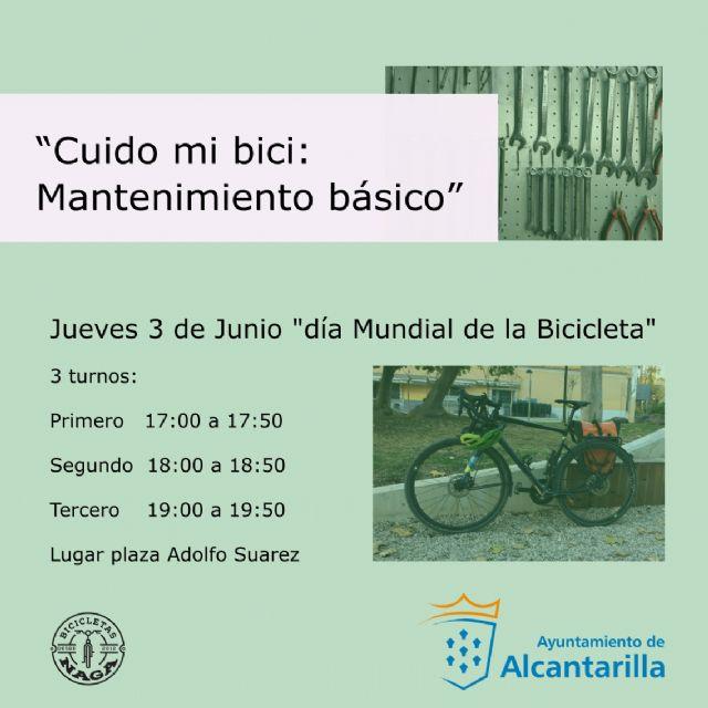 Talleres sobre la bicicleta y plantación de árboles entre las actividades por el medio ambiente en Alcantarilla - 2, Foto 2