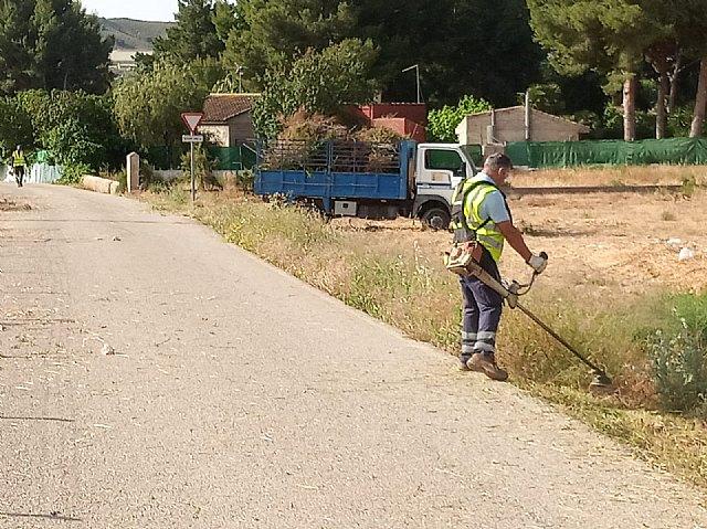 [Brigada municipal: trabajos del 31 de mayo