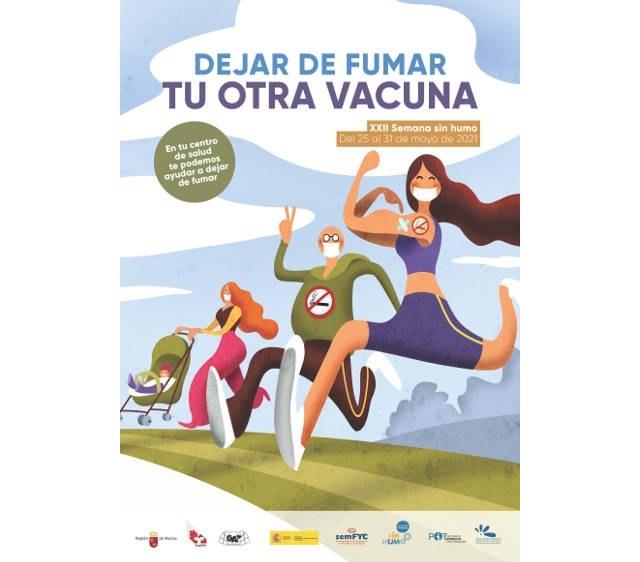 [El Ayuntamiento de Totana se suma al Día Mundial contra el tabaco y conciencia de la importancia de no fumar