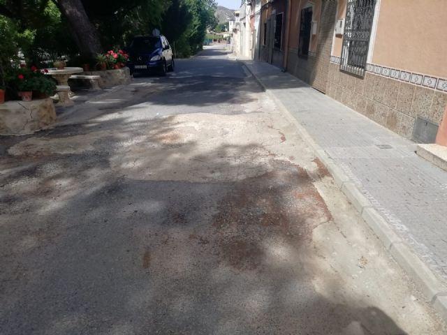 IU VERDES da a conocer a los vecinos la realidad del asfaltado en las pedanías - 1, Foto 1