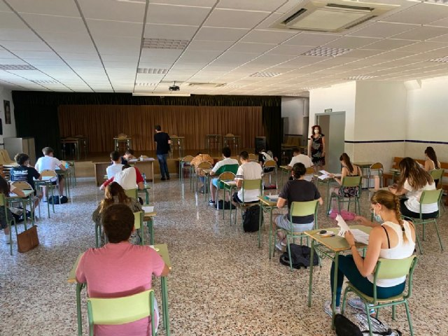 Educación facilitará el transporte a los estudiantes que tengan dificultades para desplazarse a Espinardo para las pruebas de la EBAU - 1, Foto 1