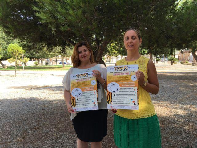 El Ayuntamiento de San Javier se adhiere a la campaña preventiva contra el mosquito tigre - 1, Foto 1