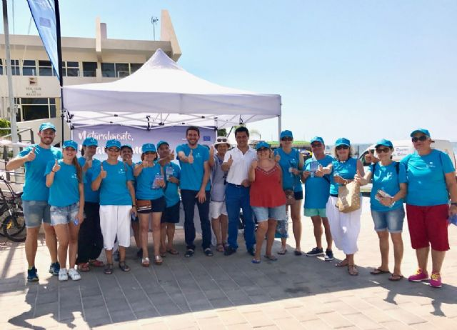 Voluntarios del Banco del Tiempo se unen a la campaña Naturalmente, Mar Menor - 1, Foto 1