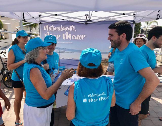 Voluntarios del Banco del Tiempo se unen a la campaña Naturalmente, Mar Menor - 3, Foto 3
