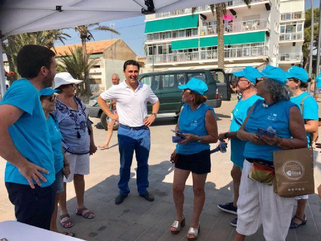 Voluntarios del Banco del Tiempo se unen a la campaña Naturalmente, Mar Menor - 4, Foto 4