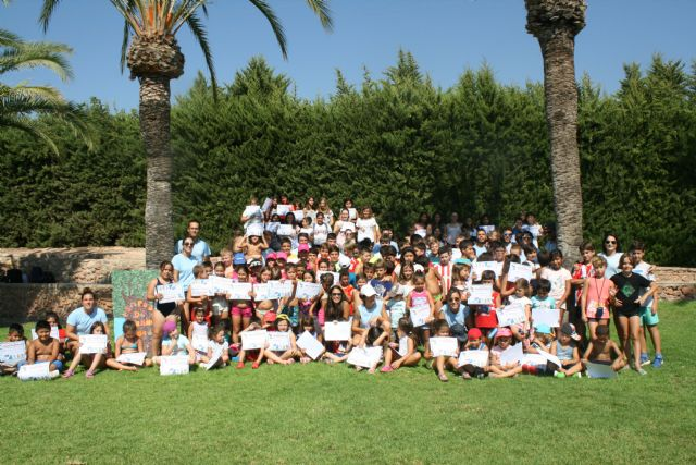 """The second half of the Summer Campus is closed in the Municipal Sports Center """"6 de Diciembre"""" and in El Paretón, with the total participation of 240 children - 1"""