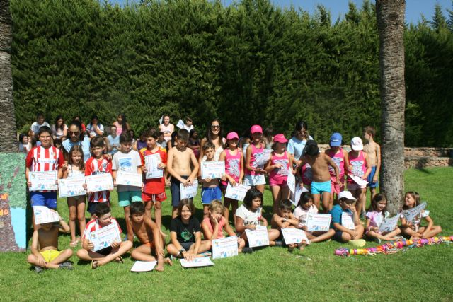 """The second half of the Summer Campus is closed in the Municipal Sports Center """"6 de Diciembre"""" and in El Paretón, with the total participation of 240 children - 4"""